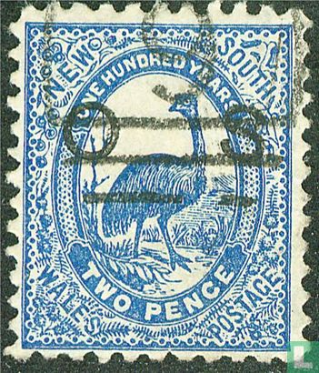 New South Wales - Emu, with print