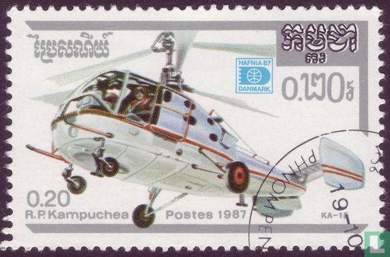 Cambodja - Hafnia 87 - Helikopter