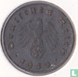 Allemagne - Empire allemand 10 reichspfennig 1940 (J)