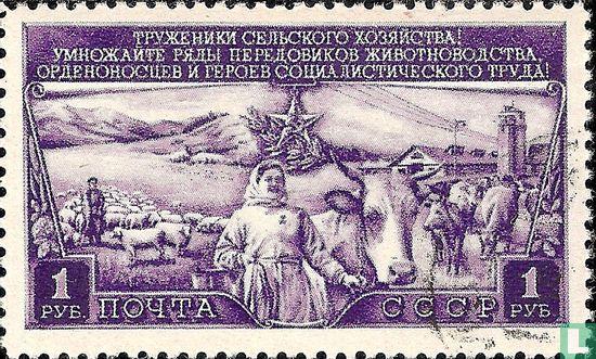 Soviet Union - Livestock