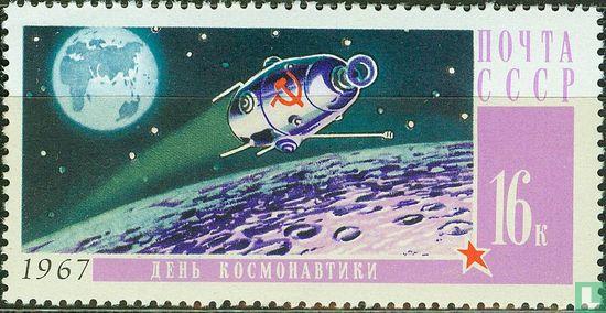 Sovjet-Unie - Dag van de ruimtevaart