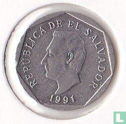 El Salvador - El Salvador 5 centavos 1991