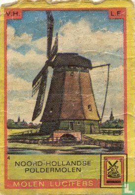 Noord Hollandse poldermolen