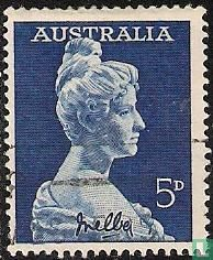 Australië [AUS] - 100 jaar zangeres Nellie Melba