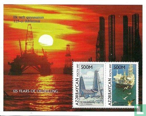 Azerbaijan - Oil drilling in the Caspian Sea
