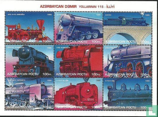 Azerbaijan - Locomotives