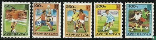 Azerbaijan - World Cup Soccer France 1998