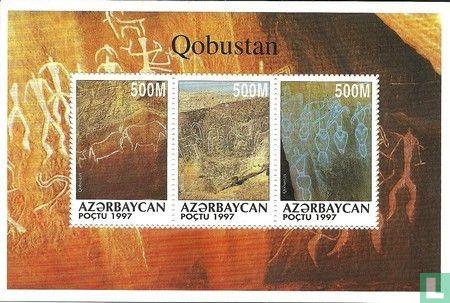 Azerbaijan - Engravings Qobustan