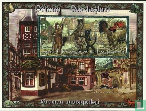 Azerbaijan - Fairy tales of the Brothers Grimm