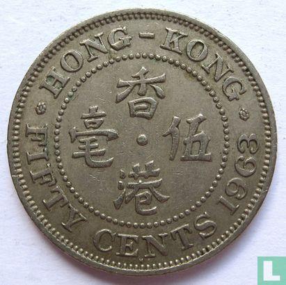 Hong Kong - Hong Kong 50 cents 1963