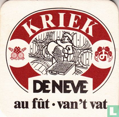 België - Kriek De Neve au fût - van 't vat