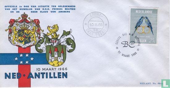 Nederlandse Antillen - Huwelijk Beatrix en Claus