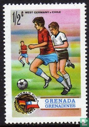Grenade Grenadines - Coupe du monde football en RFA