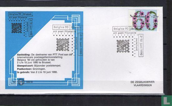 Nederland [NLD] - Postzegeltentoonstelling Belgica 1990