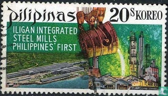 Philippines - Commissioning steel mill