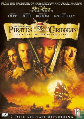 DVD - The Curse of the Black Pearl