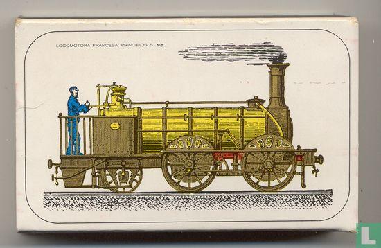 Locomotora Francesa. Principos S. XIX - Image 1