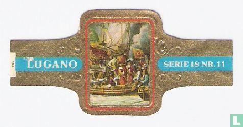 Lugano - De beroemde onderneming op de rivieren van Londen en Rochester 21 - 22 - 23 juni 1667