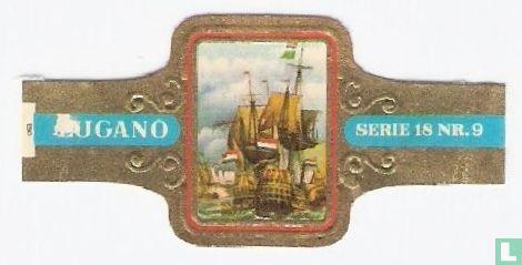 Lugano - De vierdaagse zeeslag van de Ruyter (tegen Prins Robert en Monk)