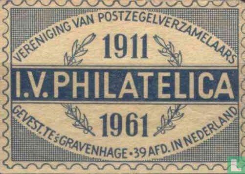 I.V. PHILATELICA 1911 - 1961 - Image 1