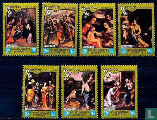 Schilderijen Correggio
