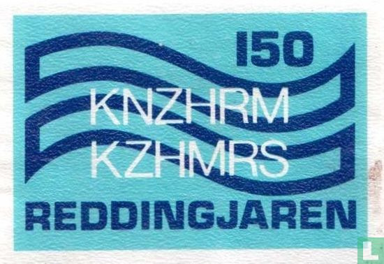 KNZHRM KZHMRS  150 reddingsjaren