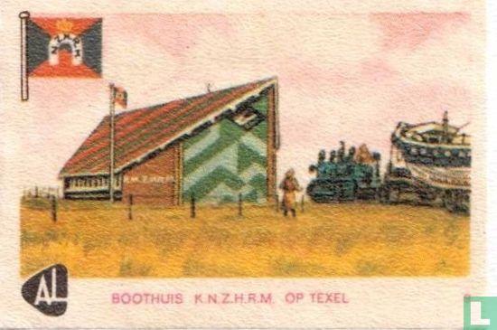 Boothuis op Texel