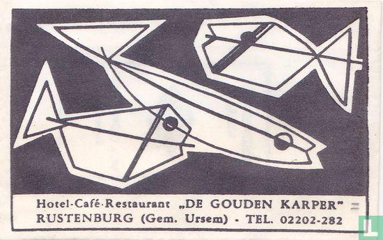 "Sachet - Hotel Café Restaurant ""De Gouden Karper"""