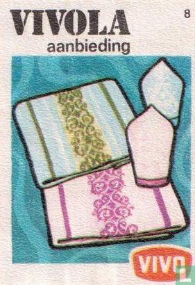 Tafelkleed met servet