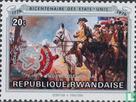 Rwanda - 200 jaar onafhankelijkheid USA