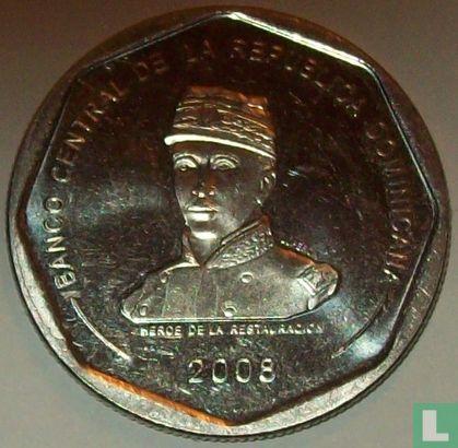 Dominican Republic - Dominican Republic 25 pesos 2008