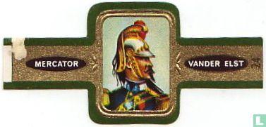 Mercator - Officier de Dragon
