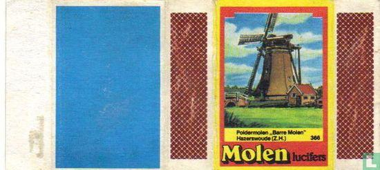 Poldermolen Barre Molen Hazerswoude (Z.H.)