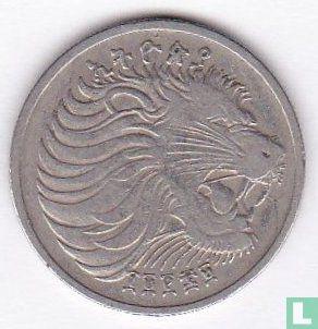 Ethiopië - Ethiopië 25 cents 1977 (EE1969 - gelijke snorharen)