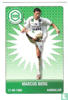 Eredivisie - FC Groningen: Marcus Berg
