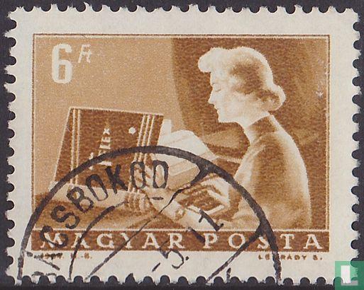 Hungary - Postal service