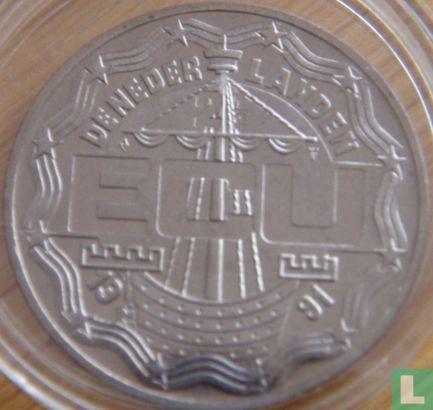 """Nederland 2½ Ecu 1991 """"Arnhem"""" - Afbeelding 1"""