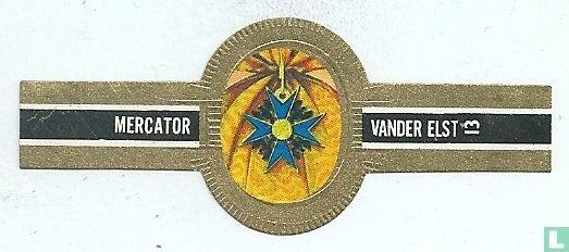 Mercator - Pruisen - Orde van de Zwarte Arend1832