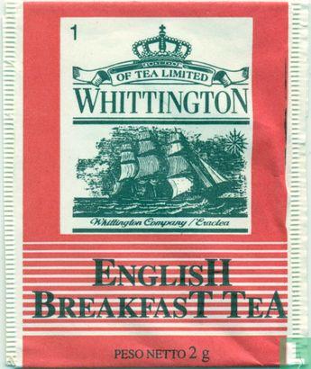 WhittingtoN -  1 EnglisH BreakfasT TeA
