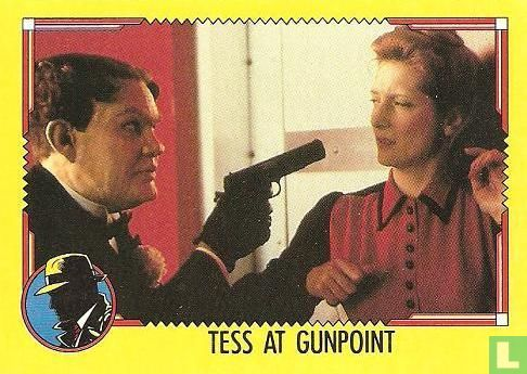 Dick Tracy - Tess at Gunpoint