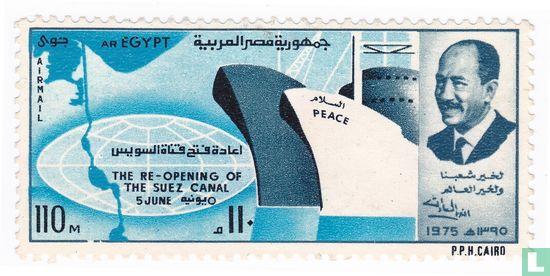 Réouverture le Canal de Suez
