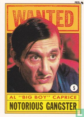 """Dick Tracy - Al """"Big Boy"""" Caprice:  Notorious Gangster"""