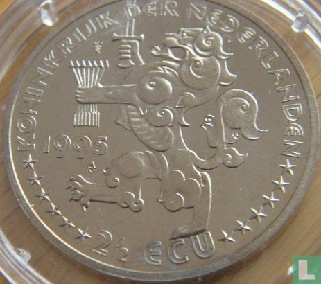 """Nederland 2½ ecu 1995 """"Grotius""""  - Afbeelding 1"""