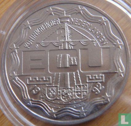 """Nederland 2½ ecu 1992 """"Bezoek Koninklijke familie Antillen"""" - Afbeelding 1"""