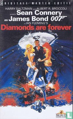 VHS video tape - Diamonds are forever