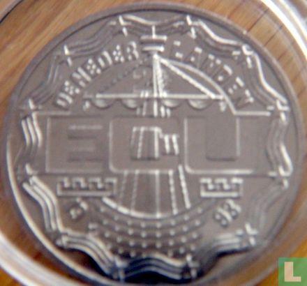 "Nederland 2½ ecu 1993 ""Leeghwater"" - Afbeelding 1"