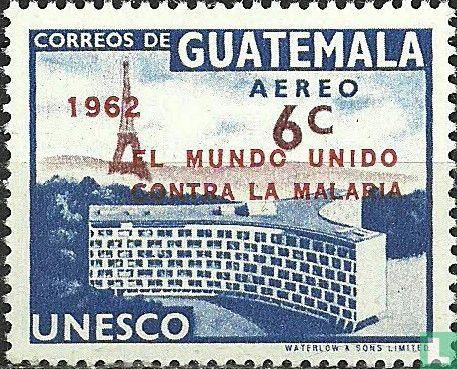 Guatemala - UNESCO Headquarters with imprint