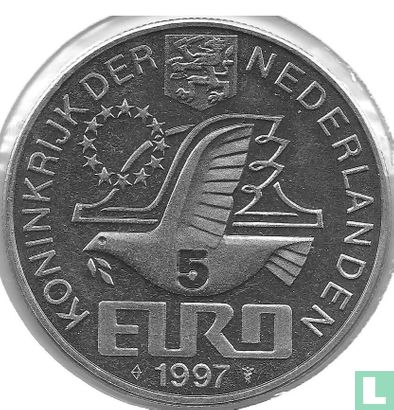 "Nederland 5 euro 1997 ""Johan van Oldenbarnevelt""  - Afbeelding 1"