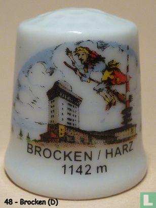 Brocken/Harz (D) Top van Harzgebergte