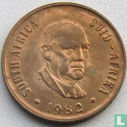 "Zuid-Afrika (South Africa) - Zuid-Afrika 2 cents 1982 ""The end of Balthazar Johannes Vorster's presidency"""